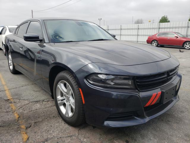 Salvage cars for sale from Copart Wilmington, CA: 2019 Dodge Charger SX