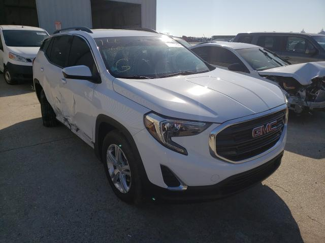 Salvage cars for sale from Copart New Orleans, LA: 2019 GMC Terrain SL