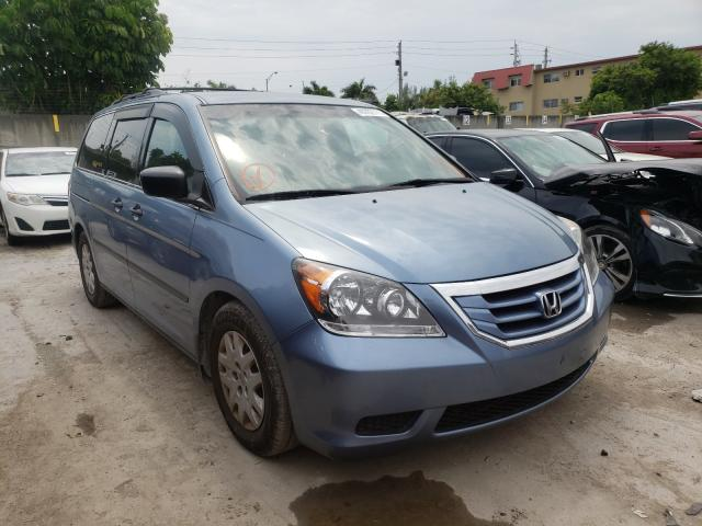 Salvage cars for sale from Copart Opa Locka, FL: 2010 Honda Odyssey LX
