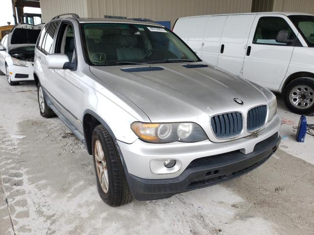 Salvage cars for sale from Copart Homestead, FL: 2006 BMW X5 3.0I
