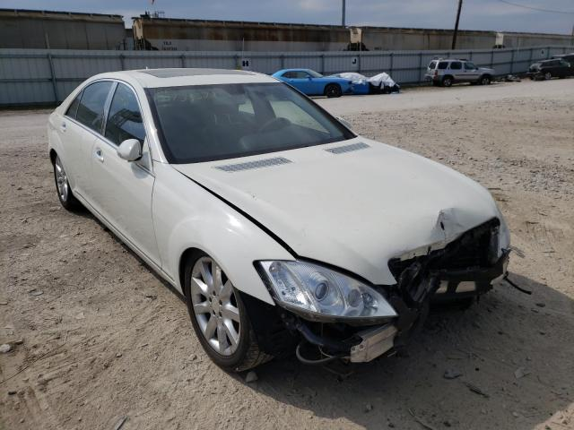 Salvage cars for sale from Copart Columbus, OH: 2009 Mercedes-Benz S 550 4matic