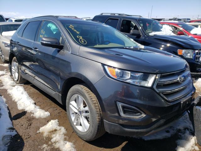 Salvage cars for sale from Copart Brighton, CO: 2015 Ford Edge SEL