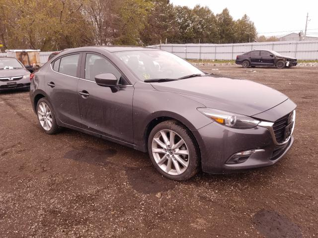 Salvage cars for sale from Copart London, ON: 2017 Mazda 3 Grand Touring