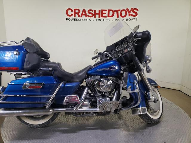 Salvage cars for sale from Copart Dallas, TX: 2005 Harley-Davidson Flhtcui