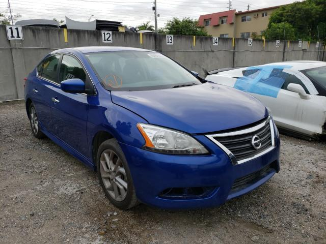 Salvage cars for sale from Copart Opa Locka, FL: 2013 Nissan Sentra S