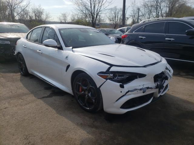 Alfa Romeo salvage cars for sale: 2020 Alfa Romeo Giulia Quattro