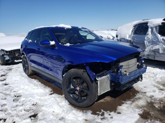 Salvage cars for sale from Copart Brighton, CO: 2020 Jaguar F-PACE Premium