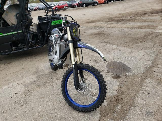 2021 Yamaha YZ450 F for sale in Davison, MI