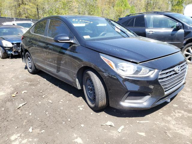 Salvage cars for sale from Copart Waldorf, MD: 2019 Hyundai Accent SE