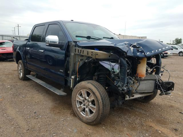 Salvage cars for sale from Copart Mercedes, TX: 2017 Ford F150 Super