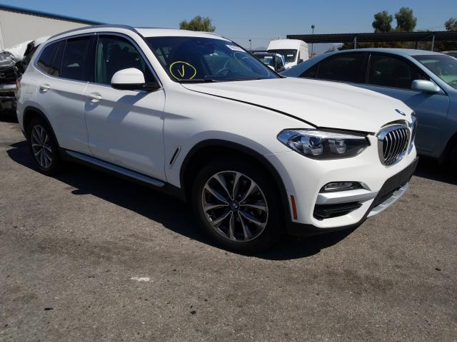 Salvage cars for sale from Copart Colton, CA: 2019 BMW X3 SDRIVE3