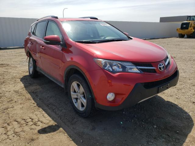 Salvage cars for sale from Copart Bismarck, ND: 2014 Toyota Rav4 XLE