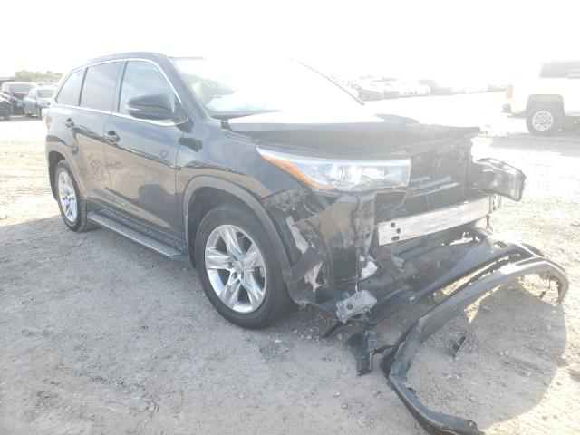 Salvage cars for sale from Copart Temple, TX: 2014 Toyota Highlander