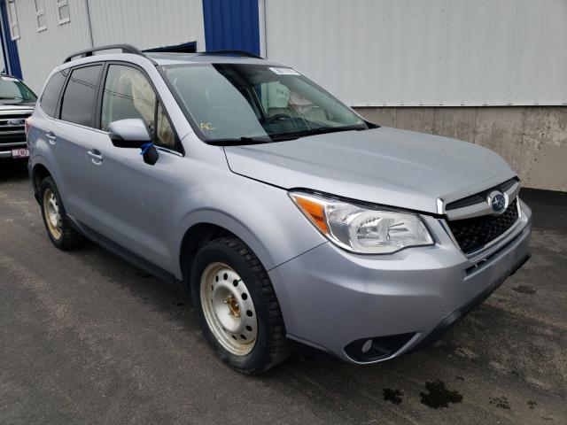 Salvage cars for sale from Copart Moncton, NB: 2015 Subaru Forester 2