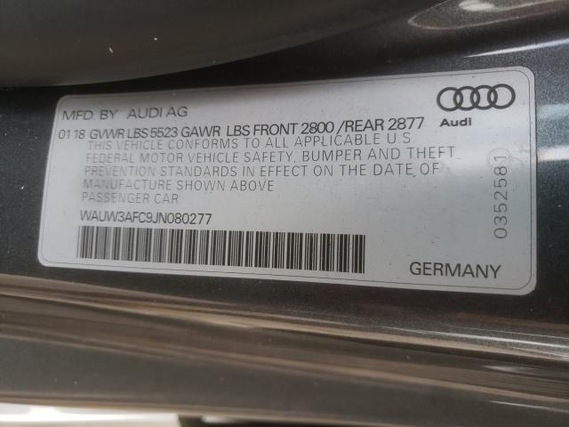 2018 AUDI A7 PREMIUM WAUW3AFC9JN080277