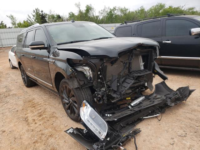 Salvage cars for sale from Copart Oklahoma City, OK: 2020 Lincoln Navigator