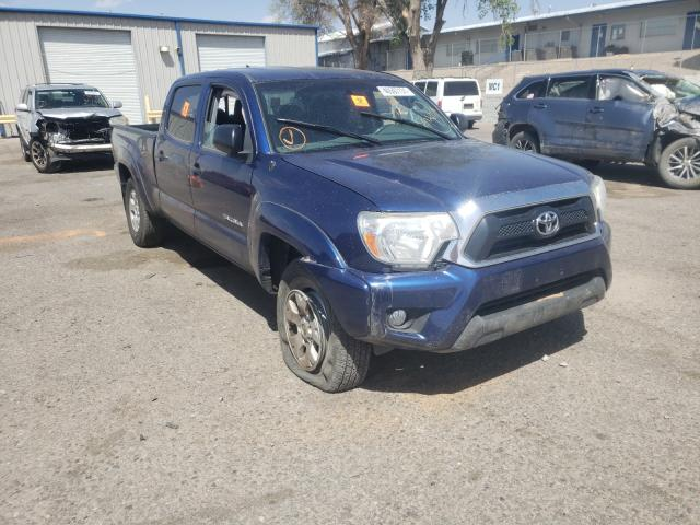Salvage cars for sale from Copart Albuquerque, NM: 2015 Toyota Tacoma DOU