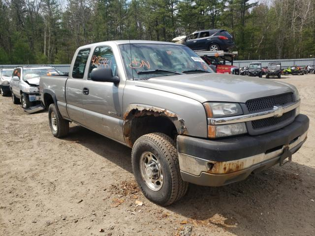 Salvage cars for sale from Copart Lyman, ME: 2003 Chevrolet Silverado