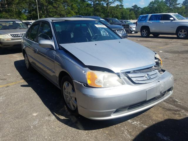 Salvage cars for sale from Copart Eight Mile, AL: 2001 Honda Civic