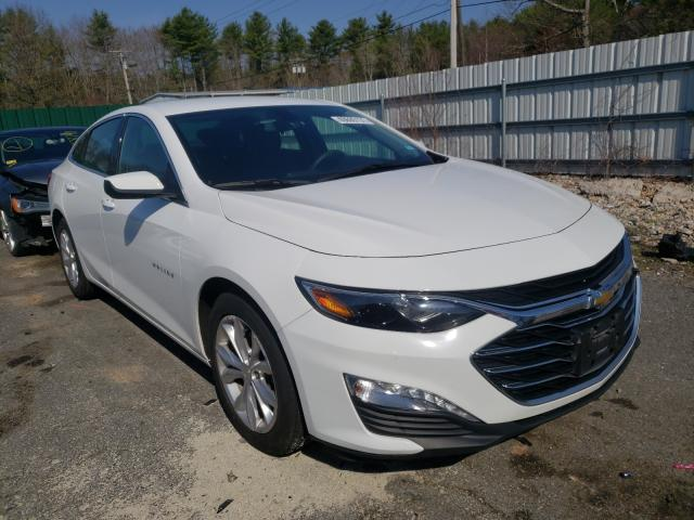 Salvage cars for sale from Copart Exeter, RI: 2019 Chevrolet Malibu LT