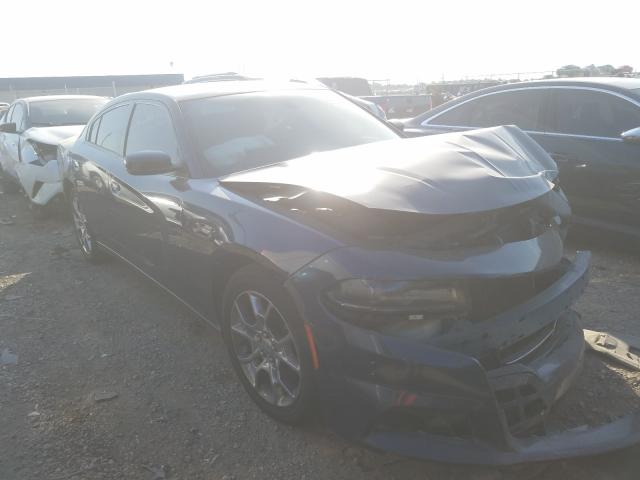 Salvage cars for sale from Copart Houston, TX: 2015 Dodge Charger SE