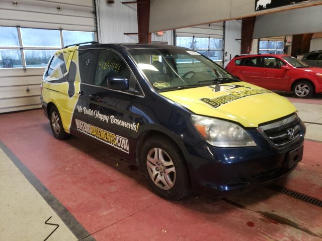 Salvage cars for sale from Copart Angola, NY: 2005 Honda Odyssey