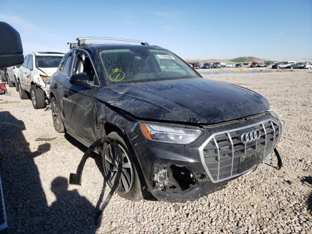 Salvage cars for sale at Magna, UT auction: 2021 Audi Q5 Premium