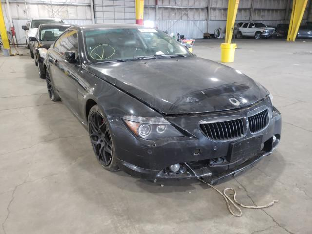 BMW salvage cars for sale: 2007 BMW 650 I