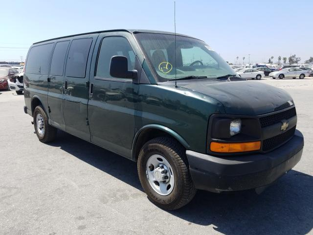 Salvage cars for sale from Copart Sun Valley, CA: 2011 Chevrolet Express G2