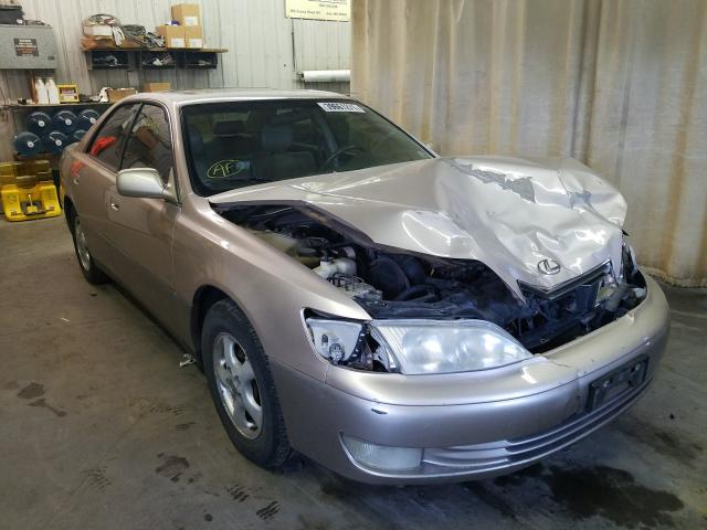 Salvage cars for sale from Copart Avon, MN: 1999 Lexus ES 300