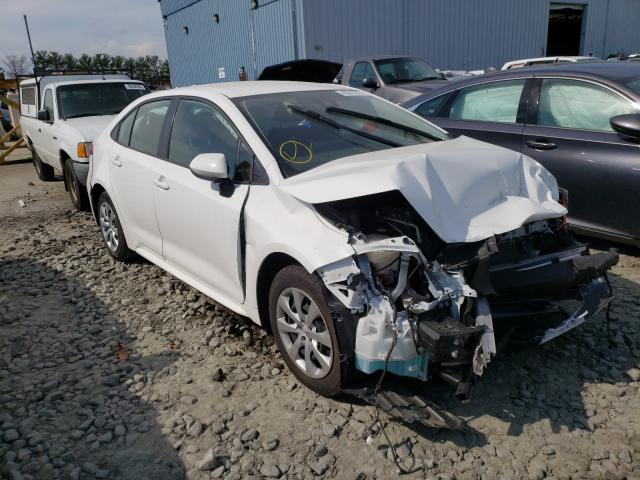Salvage cars for sale from Copart Windsor, NJ: 2020 Toyota Corolla LE
