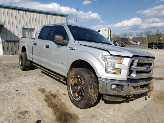 Salvage cars for sale from Copart Chambersburg, PA: 2015 Ford F150 Super