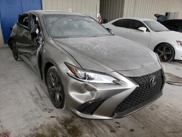 Salvage cars for sale from Copart Homestead, FL: 2019 Lexus ES 350