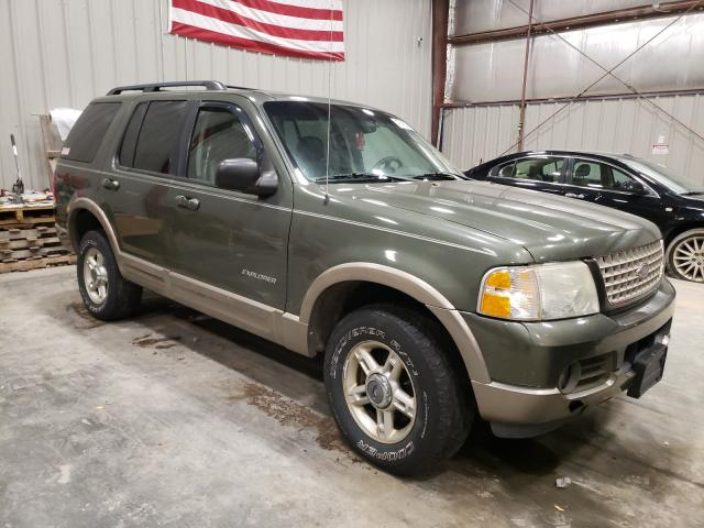 Salvage cars for sale from Copart Appleton, WI: 2002 Ford Explorer E