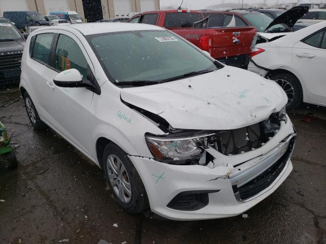 Salvage cars for sale from Copart Woodhaven, MI: 2018 Chevrolet Sonic