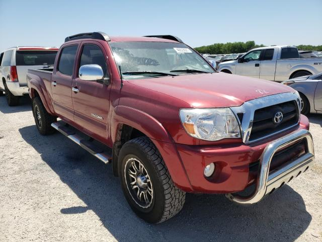 Salvage cars for sale from Copart San Antonio, TX: 2005 Toyota Tacoma DOU