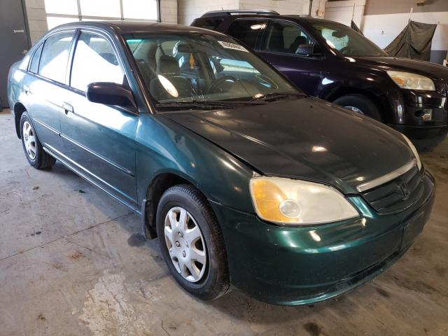 Salvage cars for sale from Copart Sandston, VA: 2001 Honda Civic LX