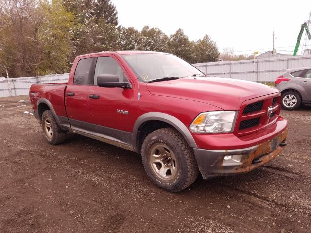Salvage cars for sale from Copart Ontario Auction, ON: 2010 Dodge RAM 1500