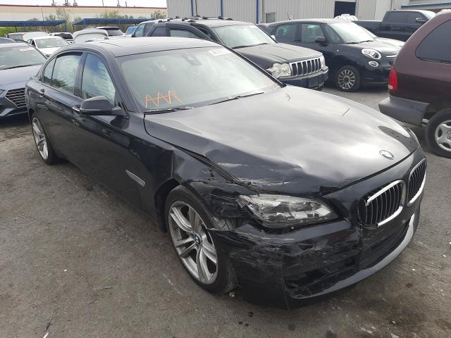 BMW salvage cars for sale: 2015 BMW Alpina B7