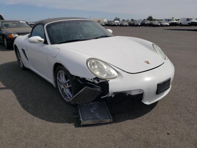 Porsche salvage cars for sale: 2007 Porsche Boxster