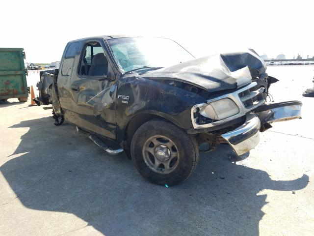 Salvage cars for sale from Copart New Orleans, LA: 1998 Ford F150