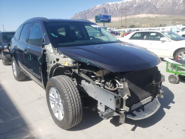 Salvage cars for sale from Copart Farr West, UT: 2014 Chevrolet Traverse L
