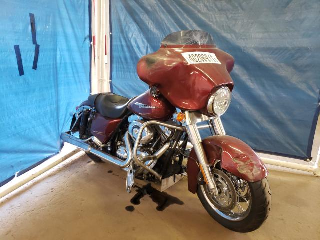 Salvage motorcycles for sale at Hillsborough, NJ auction: 2009 Harley-Davidson Flhx
