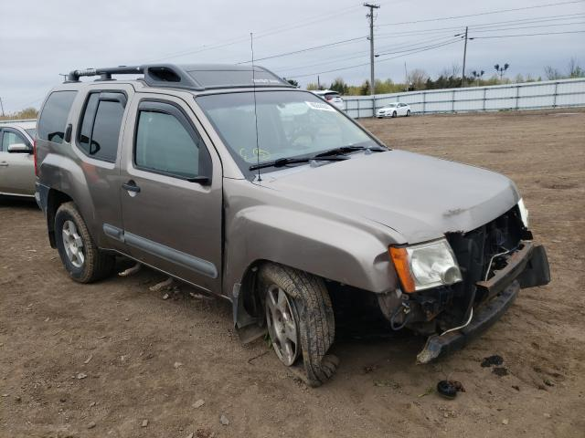 Salvage cars for sale from Copart Columbia Station, OH: 2005 Nissan Xterra OFF