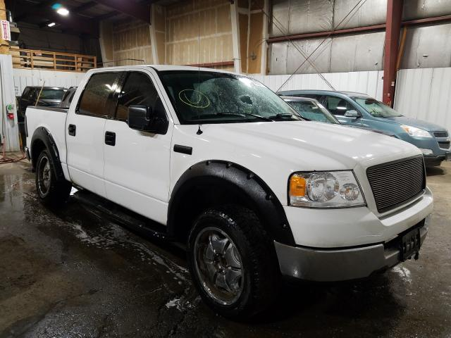Salvage cars for sale from Copart Anchorage, AK: 2005 Ford F150 Super