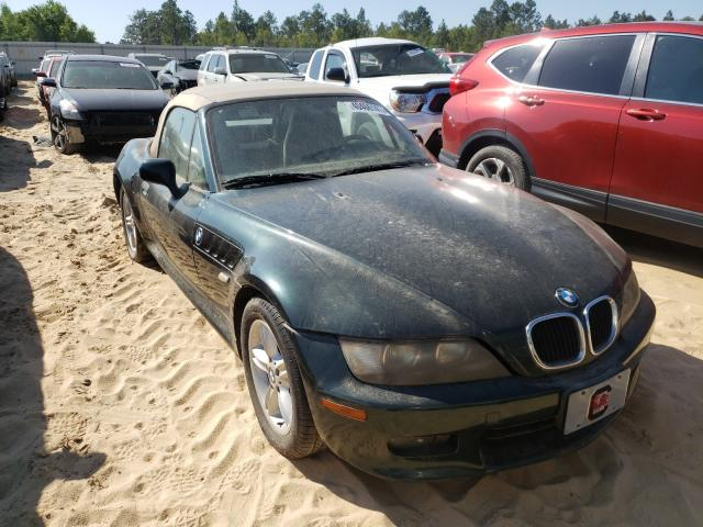 BMW Z3 salvage cars for sale: 2000 BMW Z3