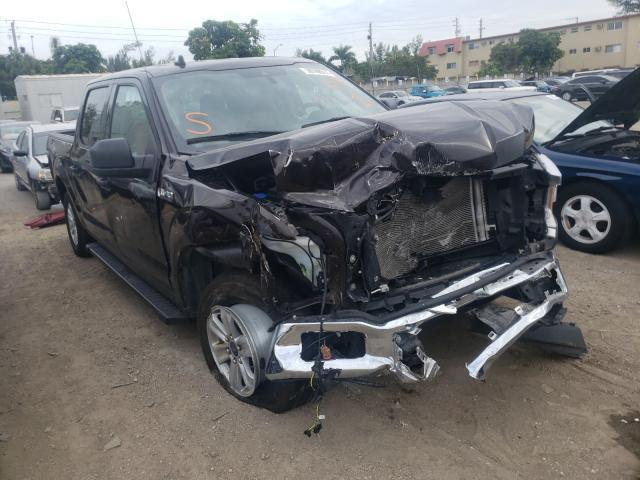 Salvage cars for sale from Copart Opa Locka, FL: 2020 Ford F150 Super
