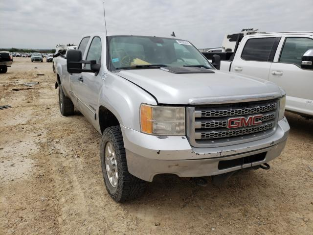 Salvage cars for sale from Copart San Antonio, TX: 2012 GMC Sierra K35