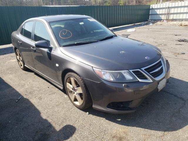 Salvage cars for sale from Copart Exeter, RI: 2009 Saab 9-3 2.0T