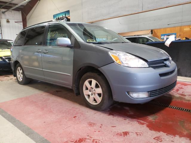 Salvage cars for sale from Copart Angola, NY: 2005 Toyota Sienna XLE
